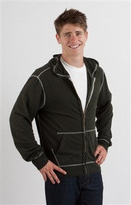 Spun Bamboo Men's Hooded Sweatshirt