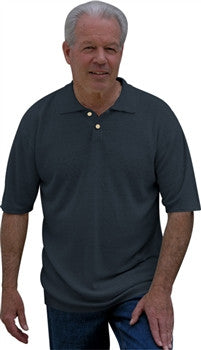 Dash Hemp's BEN LOMOND HAND LOOMED 100% HEMP POLO