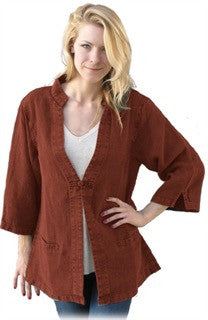Dash Hemp Women's TAI CHI JACKET