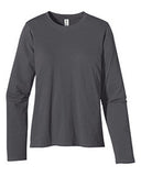 econscious Ladies' 4.4 oz., 100% Organic Cotton Classic Long-Sleeve T-Shirt - Graphic Comfort  - 4