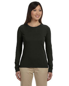econscious Ladies' 4.4 oz., 100% Organic Cotton Classic Long-Sleeve T-Shirt - Graphic Comfort  - 1