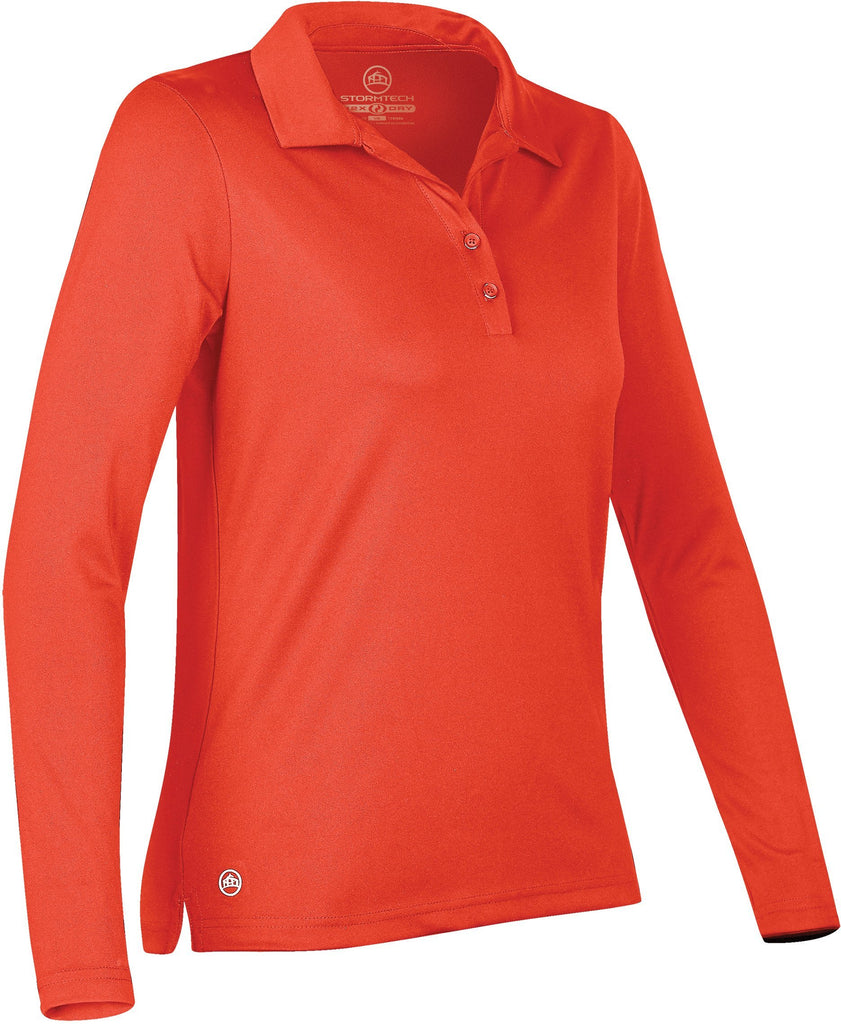 Women's Apollo H2X-DRY® L/S Polo - LPS-1W