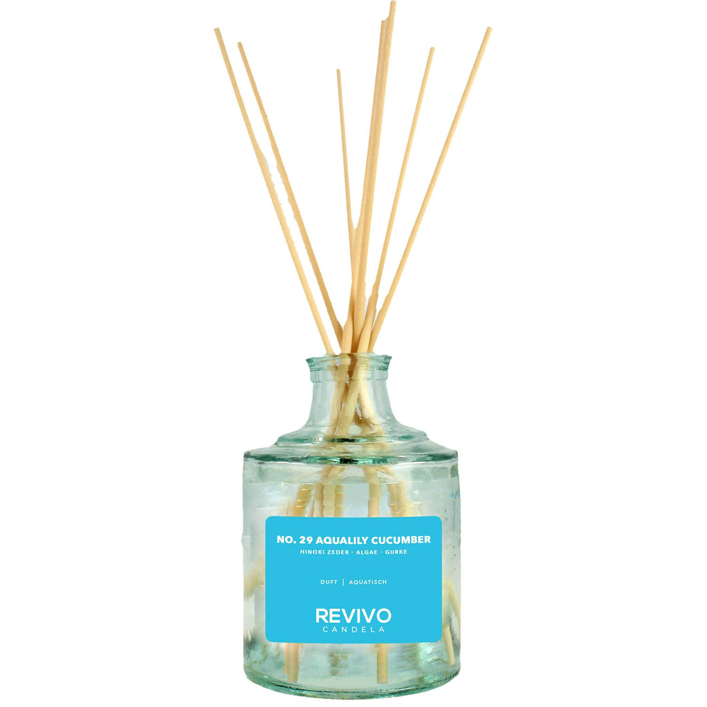 Revivo Candela Reed Diffuser No 29 Aqualily Cucumber