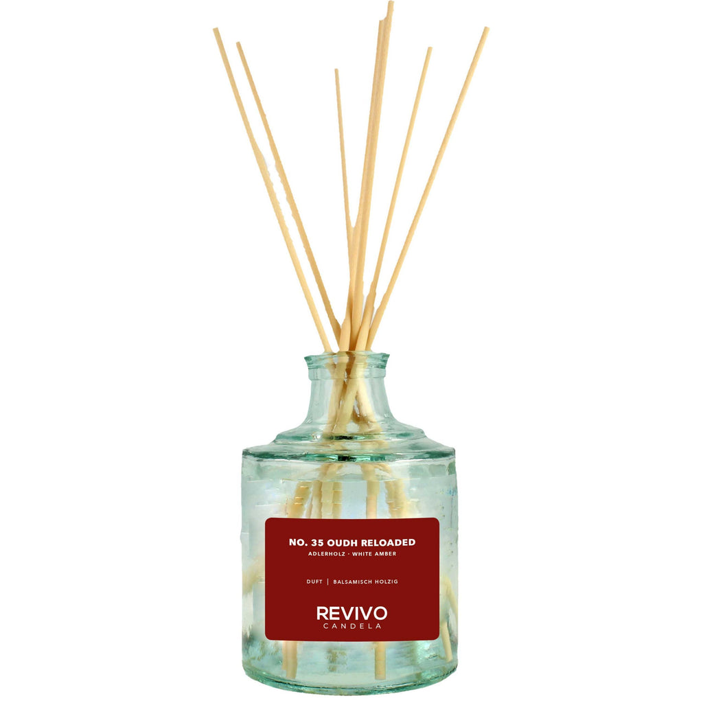 Revivo Candela Reed Diffuser No 35 Oudh Reloaded