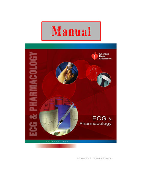 ECG & PHARMACOLOGY Manual