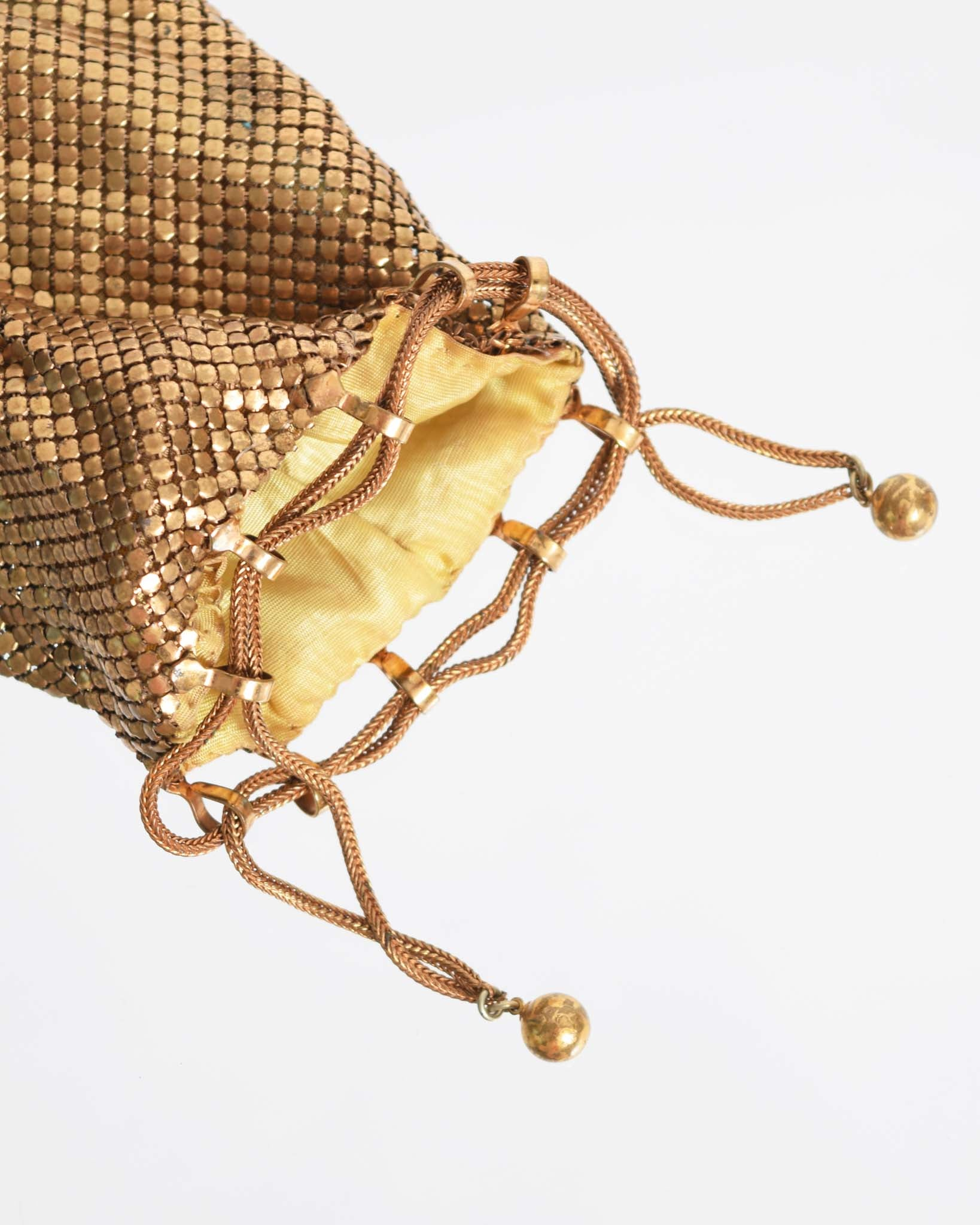 Vintage 1930s Chainmail Reticule Purse