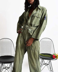 Vintage 1940s Flight Suit
