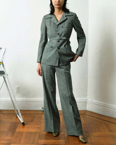 Vintage 1970s Tweed Suit