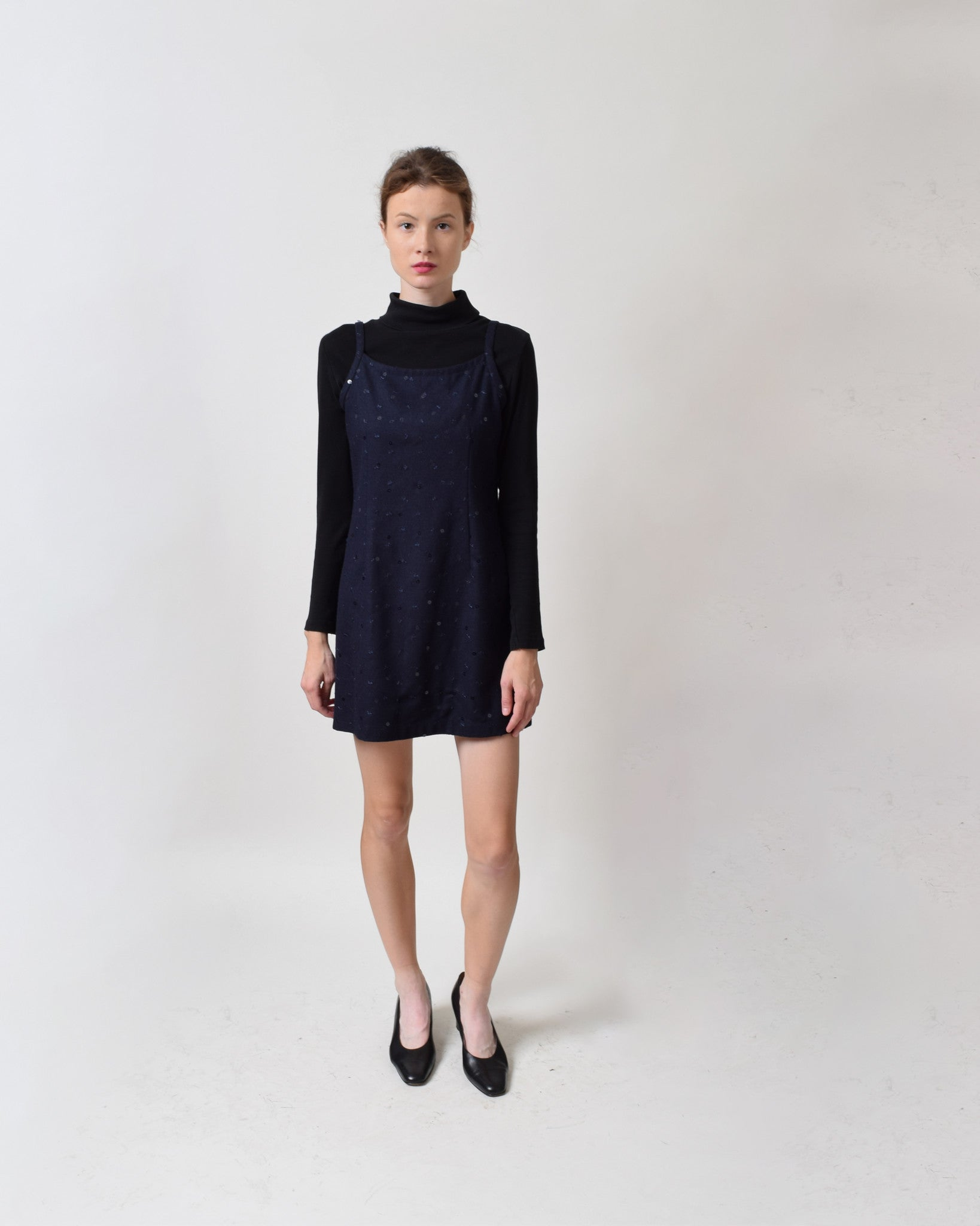 Vintage 1990s Wool Jumper Dress