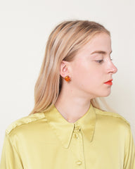 Vintage Louis Stern Amber Earrings