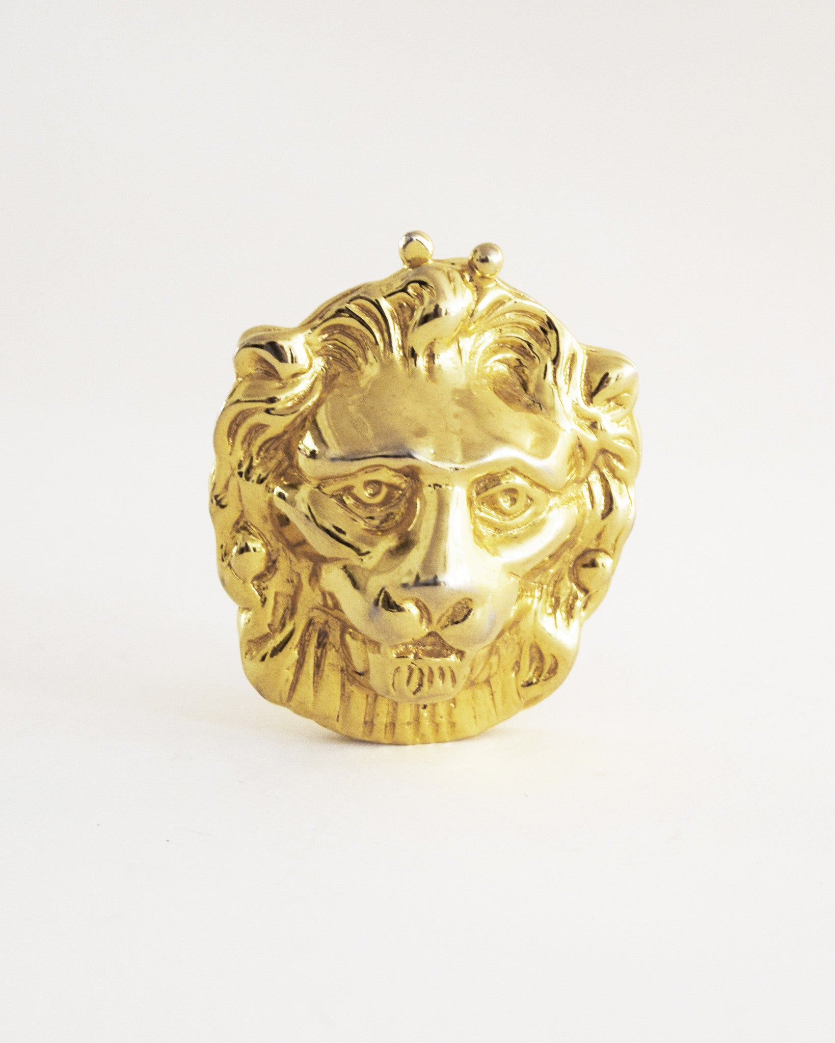 Vintage Cadoro Lion's Head Coin Purse