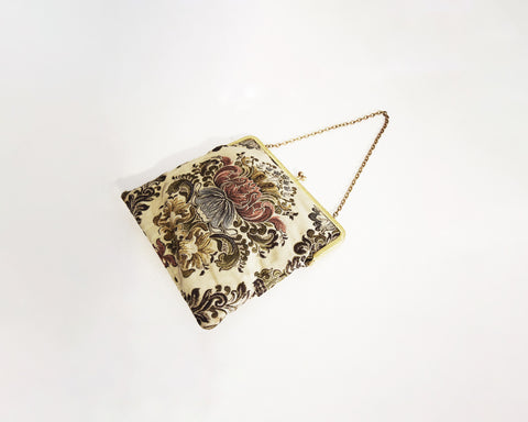 Antique Brocade Handbag
