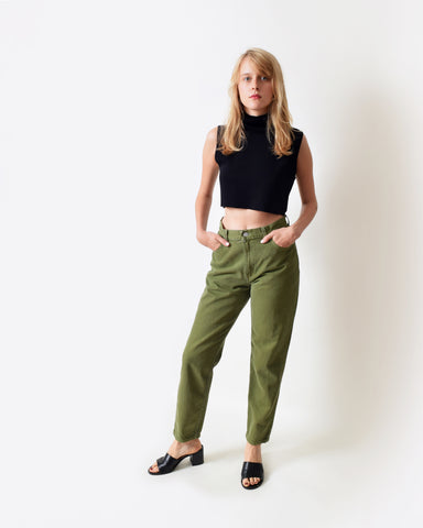 Vintage Levi's 550 Army Green Jeans