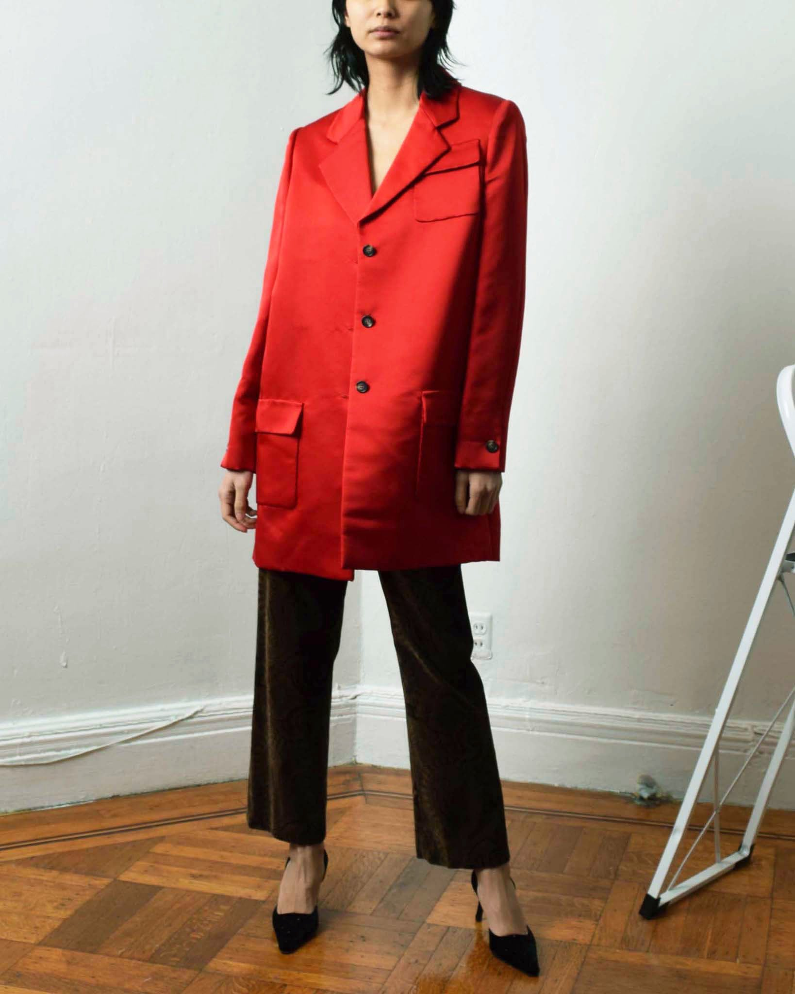 Vintage Bill Blass Silk Jacket