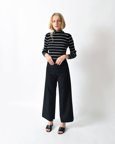 Vintage 13-Button Sailor Trousers