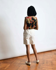 Vintage 1970s Canvas Shorts