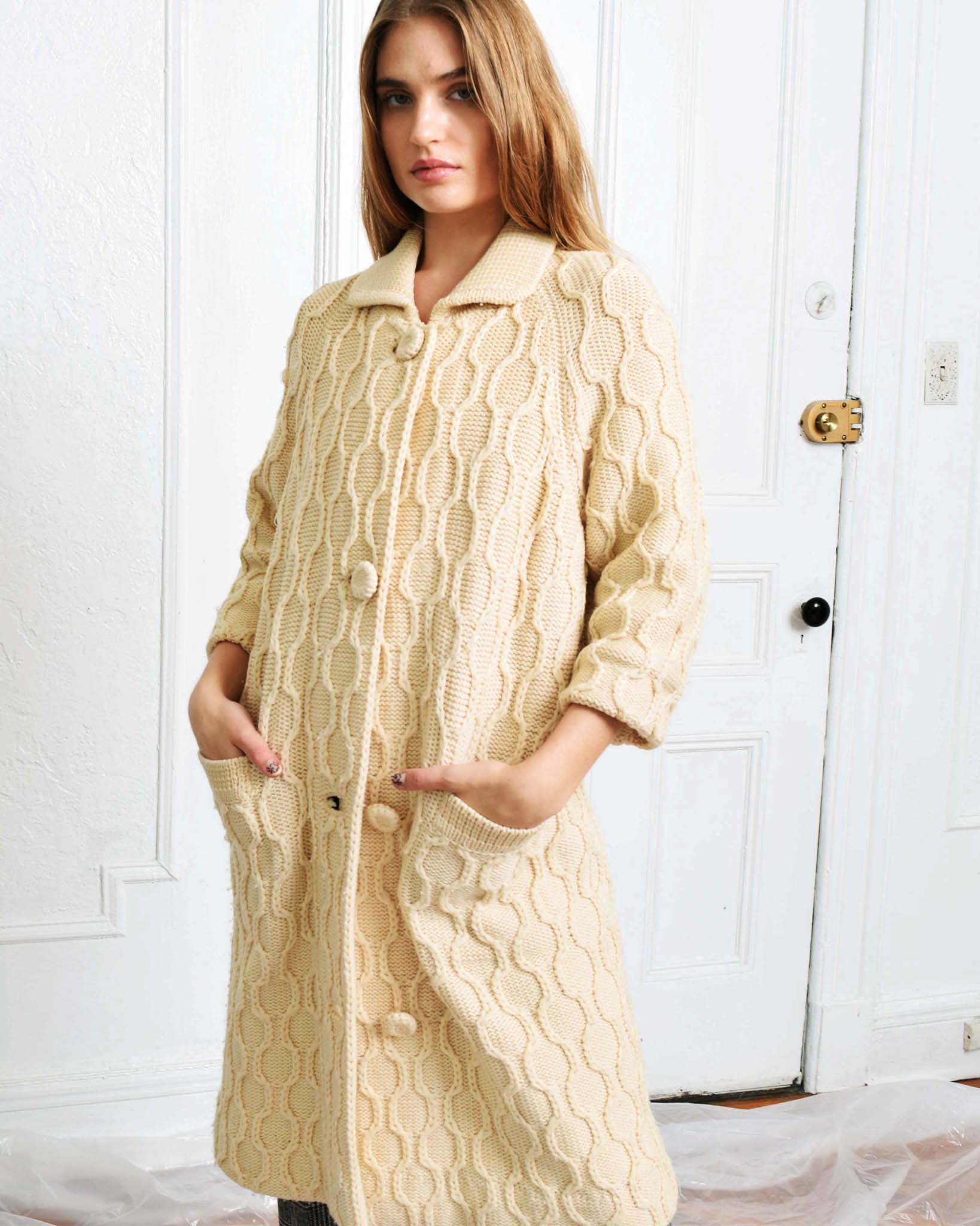 Vintage Sweater Coat