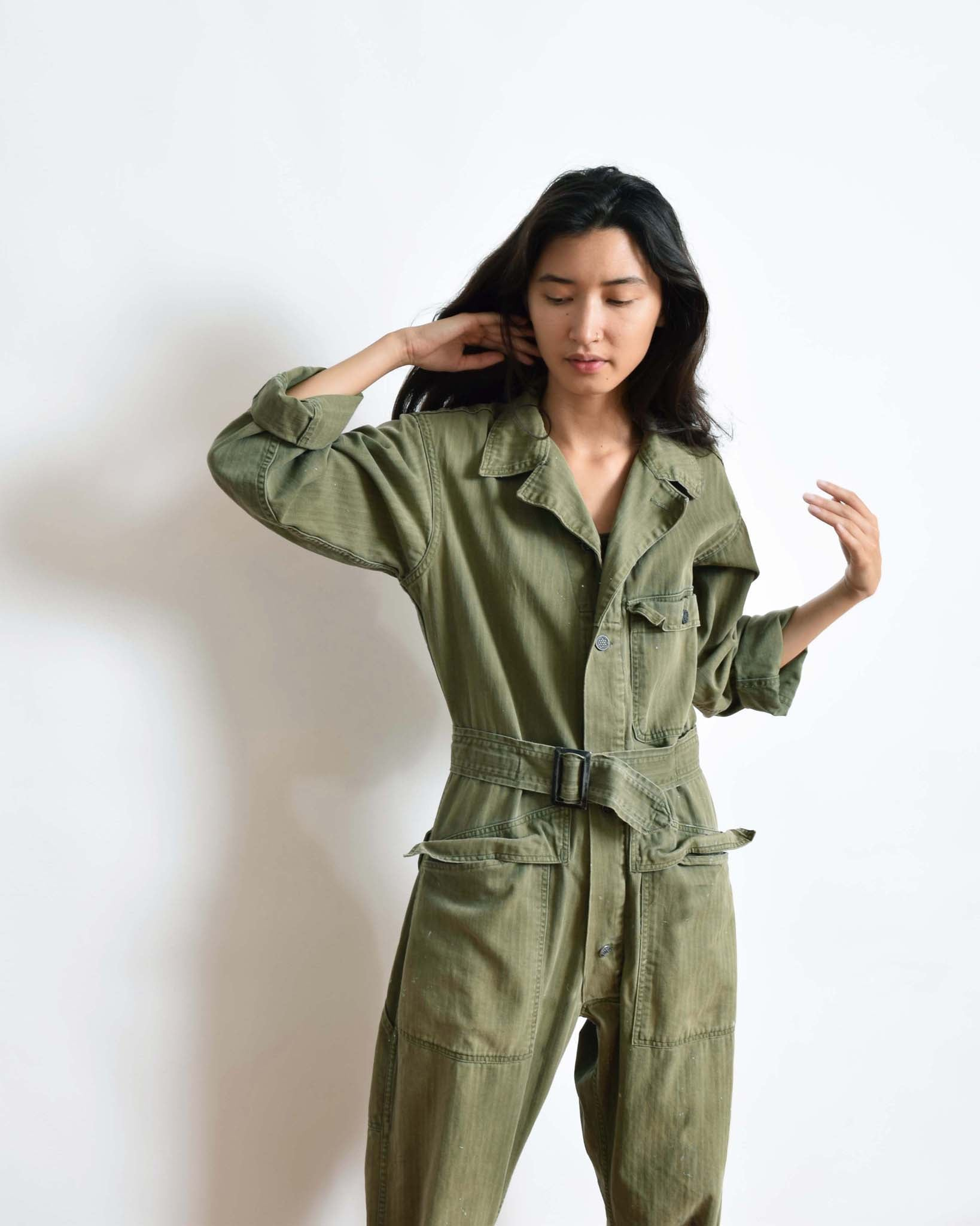 Vintage 1950s Army Flight Suit