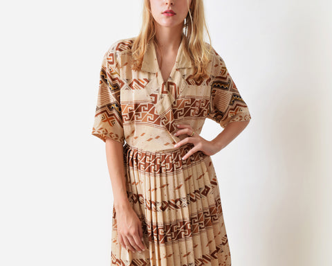 Vintage Ellen Tracy Silk Dress