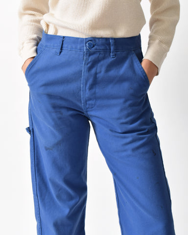 Vintage French Work Wear Trousers