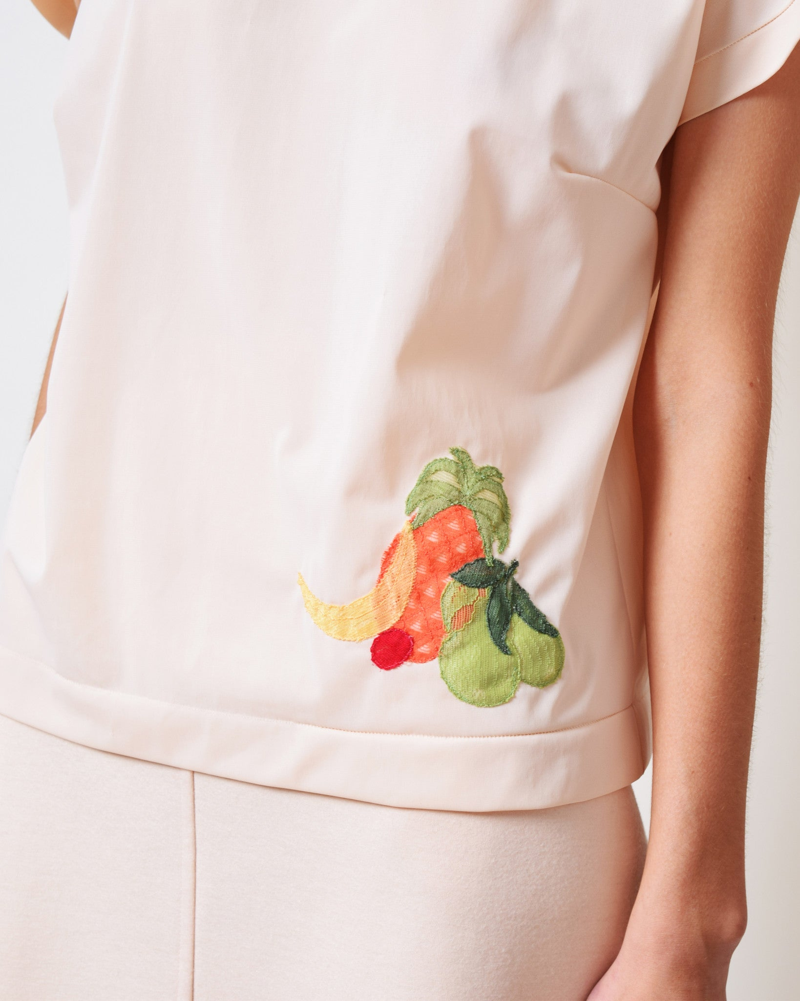 Vintage Fruit Boxy Top