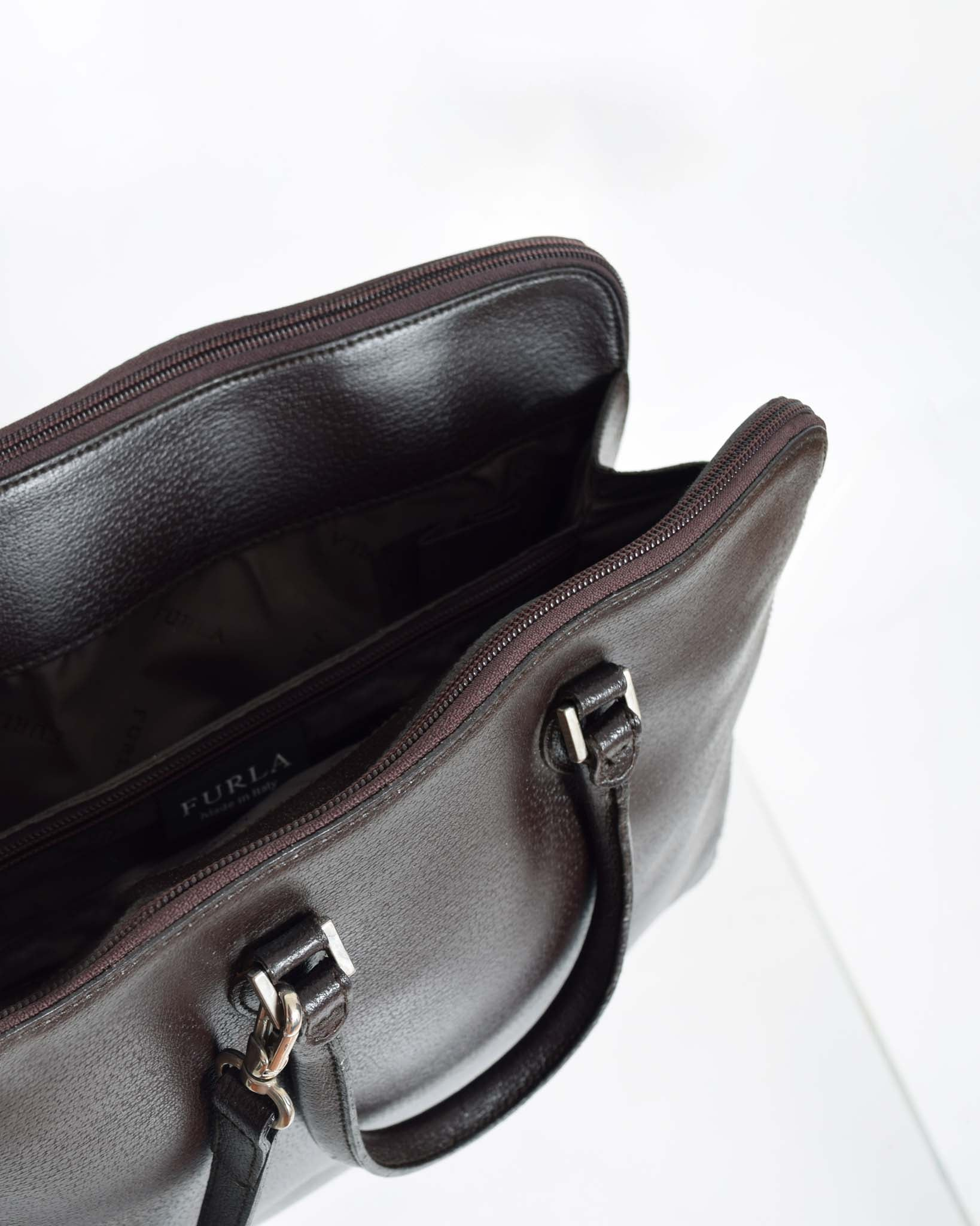 Furla Leather Satchel Bag