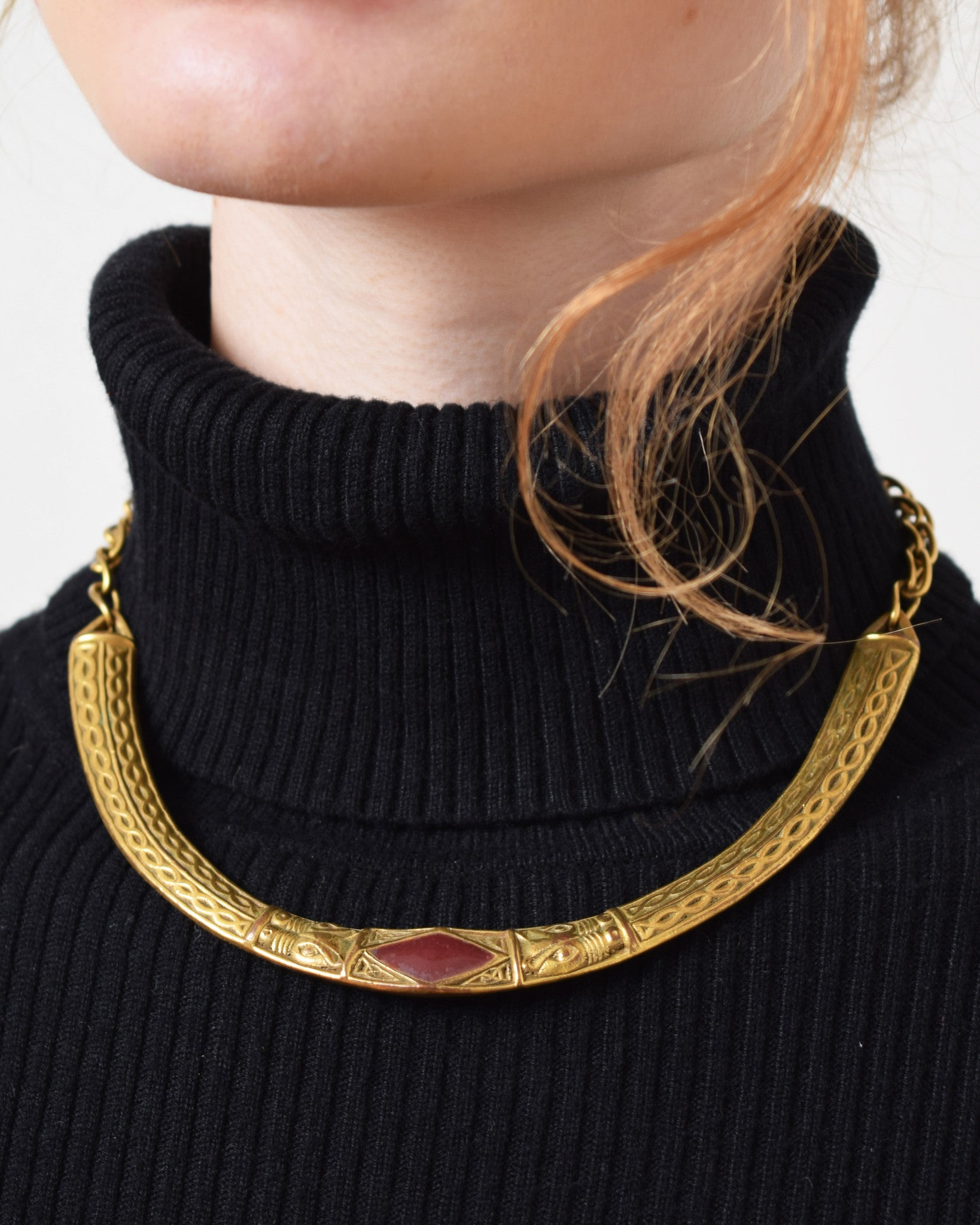 Vintage 1970s Collar Necklace