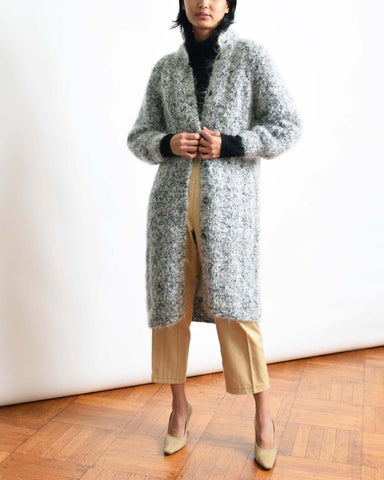 Vintage Mohair Sweater Coat