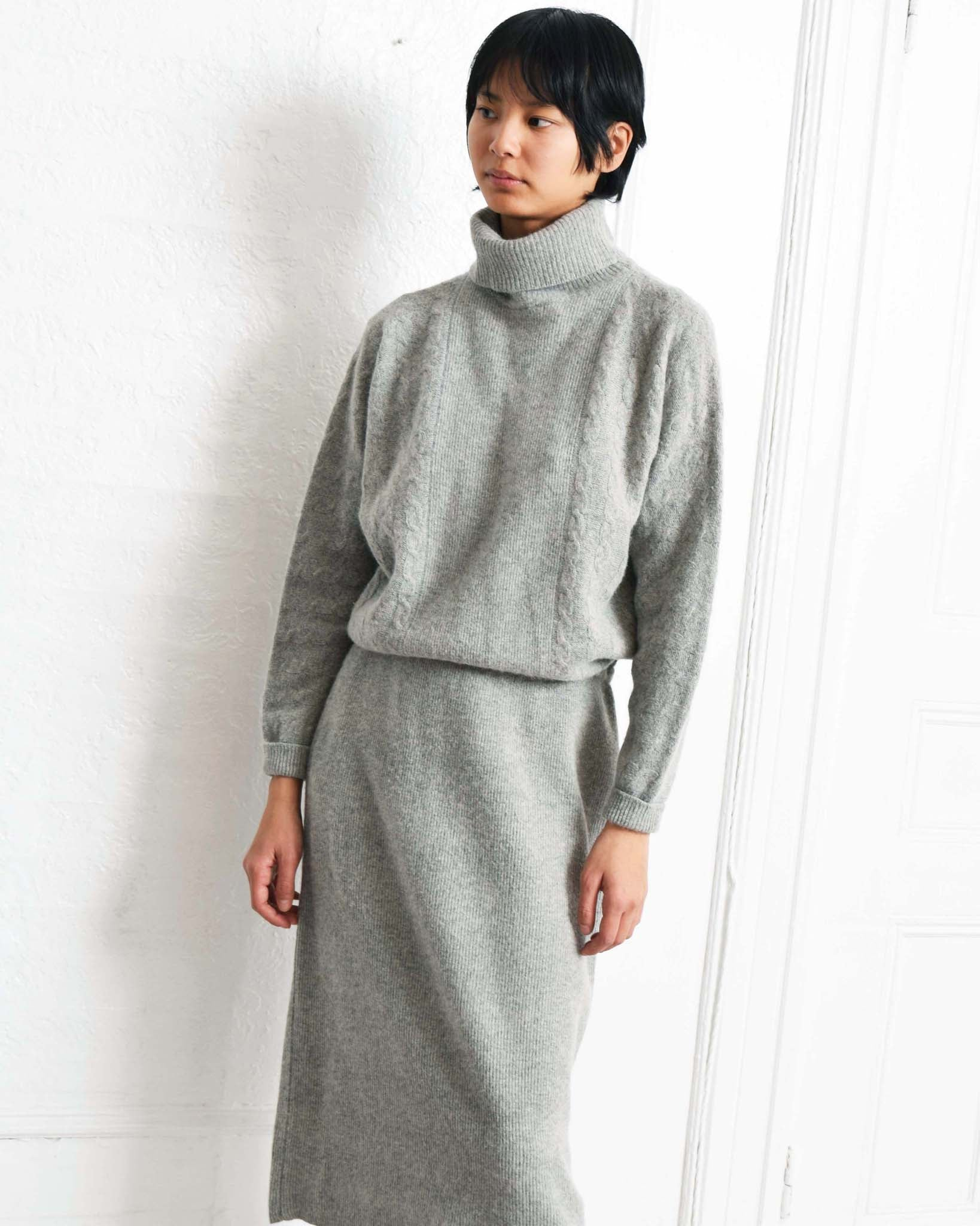 Vintage Lambswool Sweater Dress