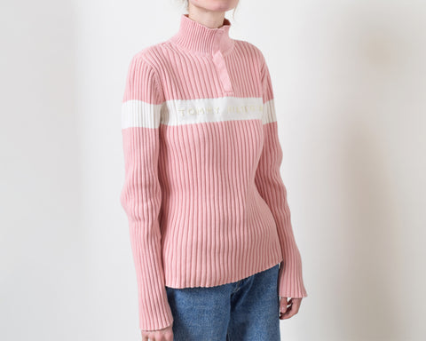 Tommy Hilfiger Ribbed Logo Sweater