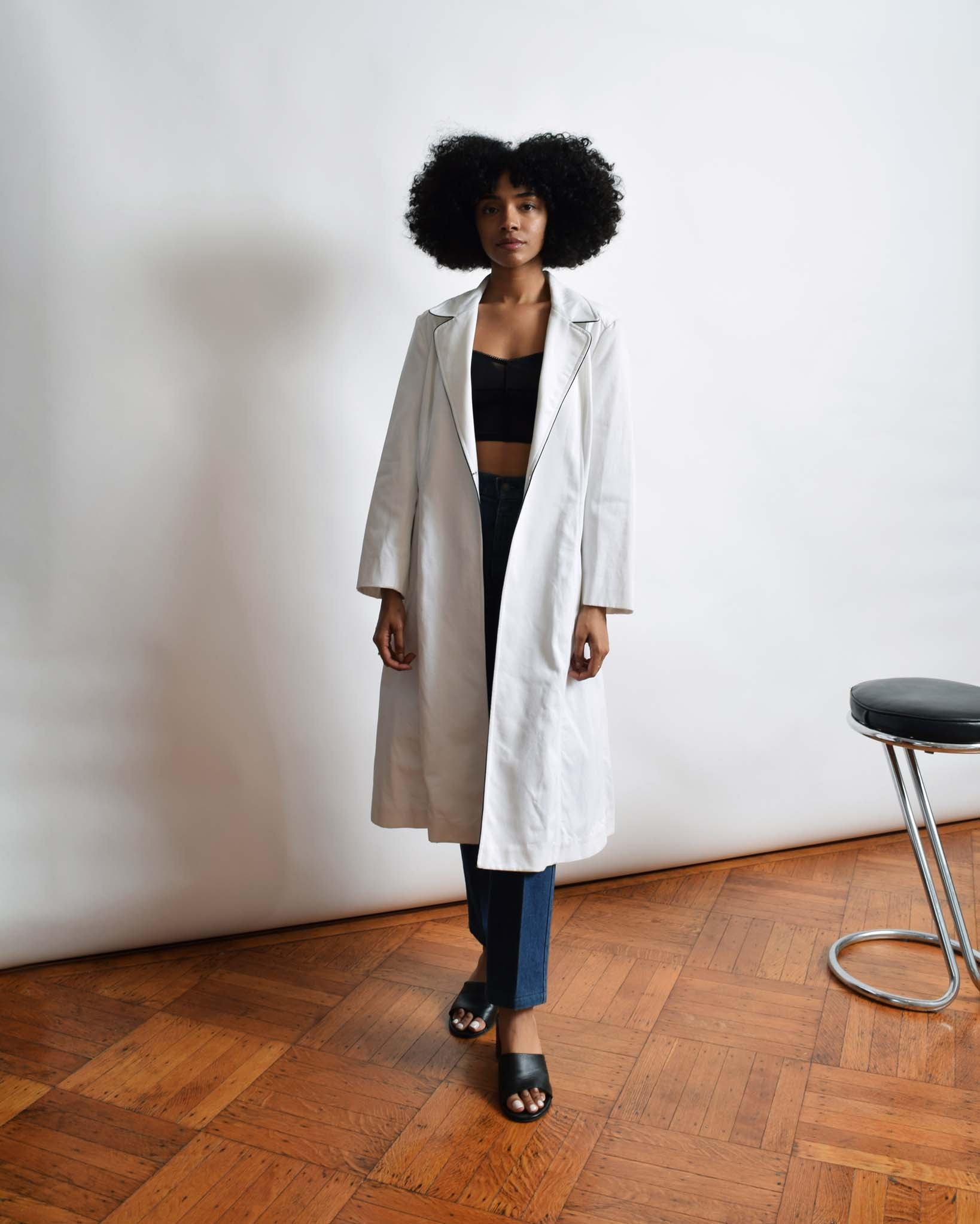 Jaeger Cotton Trench Coat