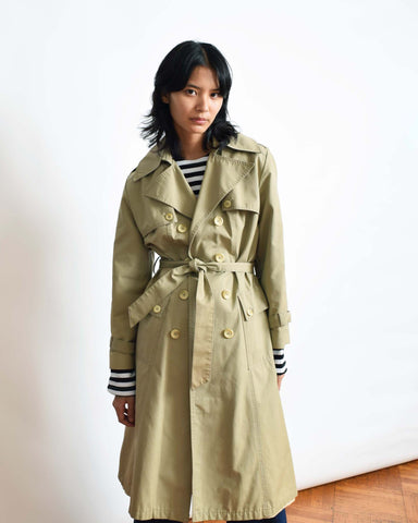 Vintage Double Breasted Trench