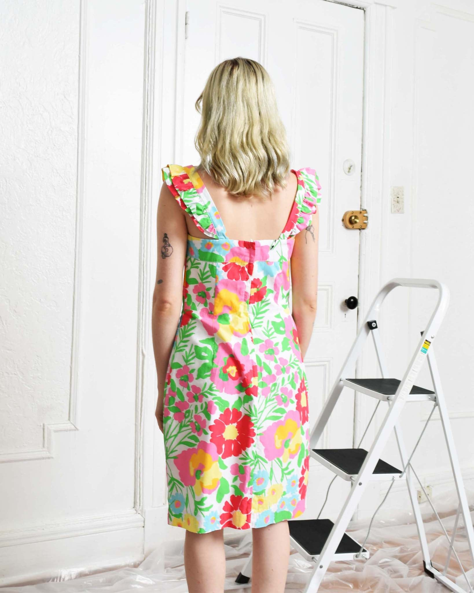 Lilly Pulitzer Floral Summer Dress