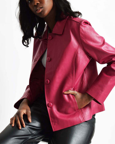 Betsey Johnson Leather Jacket
