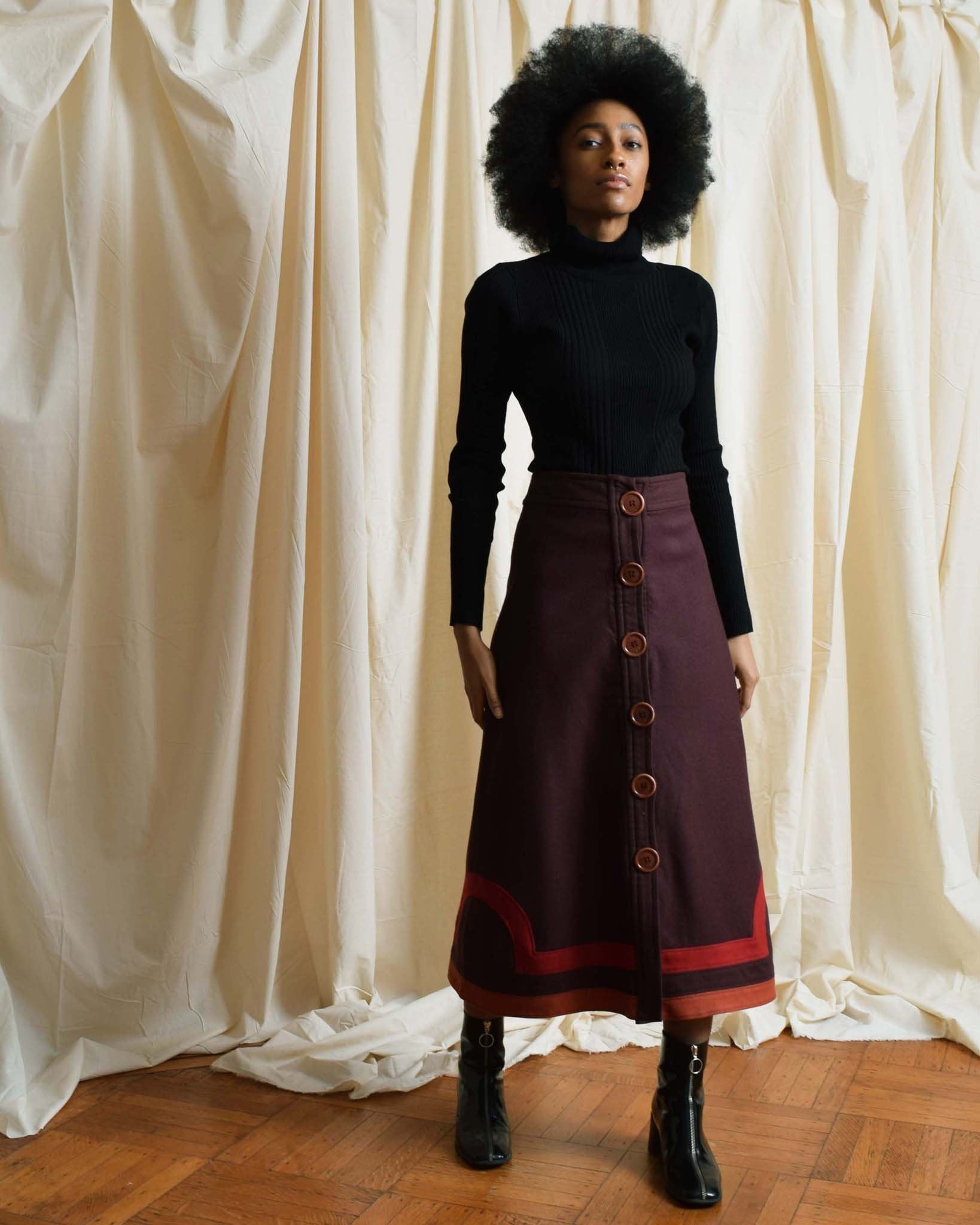 Marc Jacobs A Line Skirt