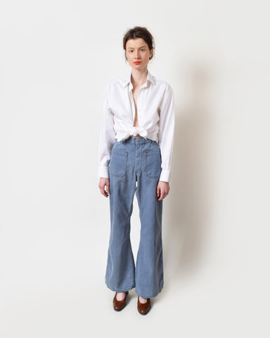 Vintage Light Wash Seafarer Trousers