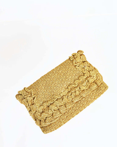 Vintage Gold Minaudière Purse