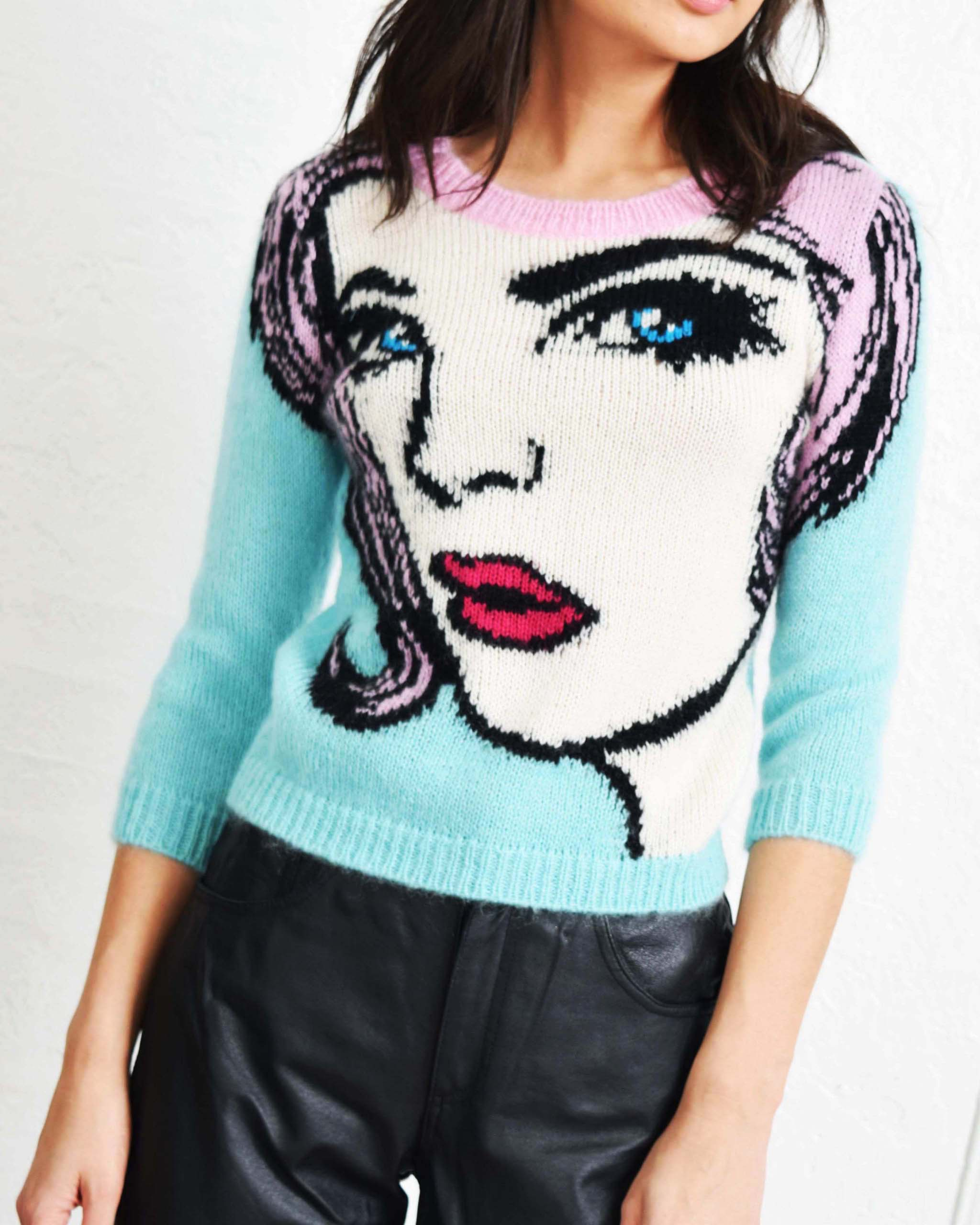 Moschino Pop Art Sweater