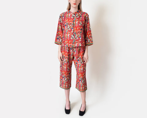 Natori Chinese Two Piece Ensemble