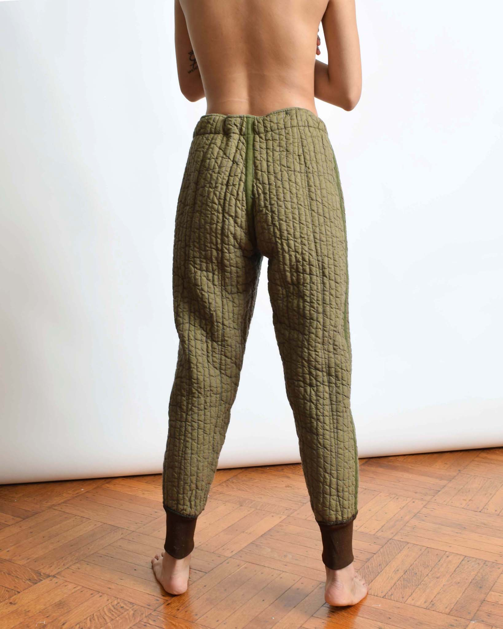 Vintage Quilted Liner Pants