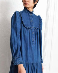 Vintage 1970s Denim Dress