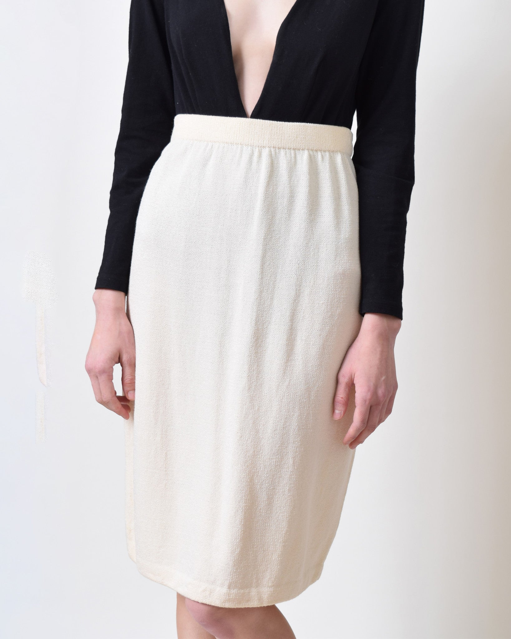 Vintage St. John Santana Knit Pencil Skirt