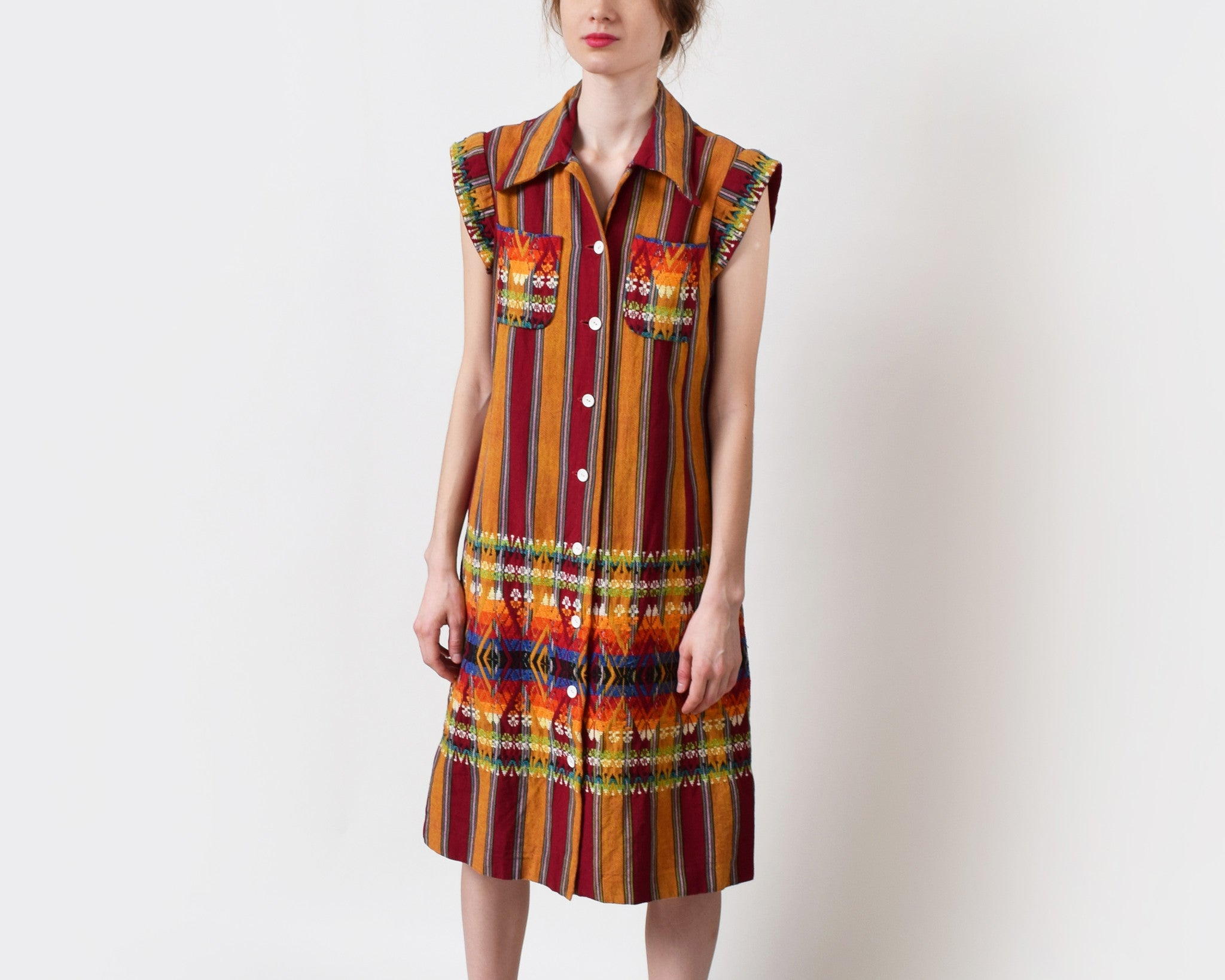 Vintage 1970s Guatemalan Dress