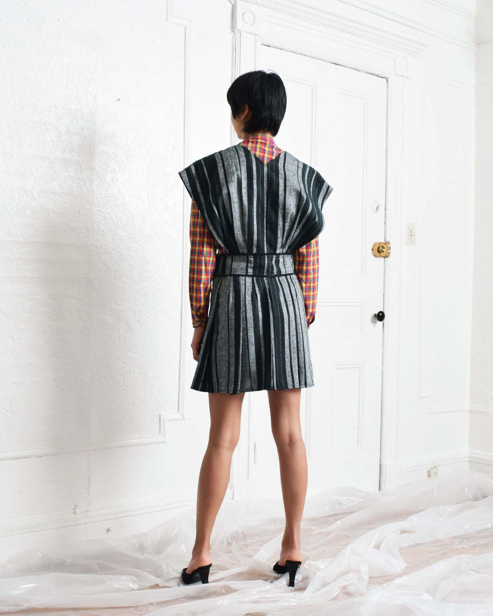 Vintage Striped Jumper Dress