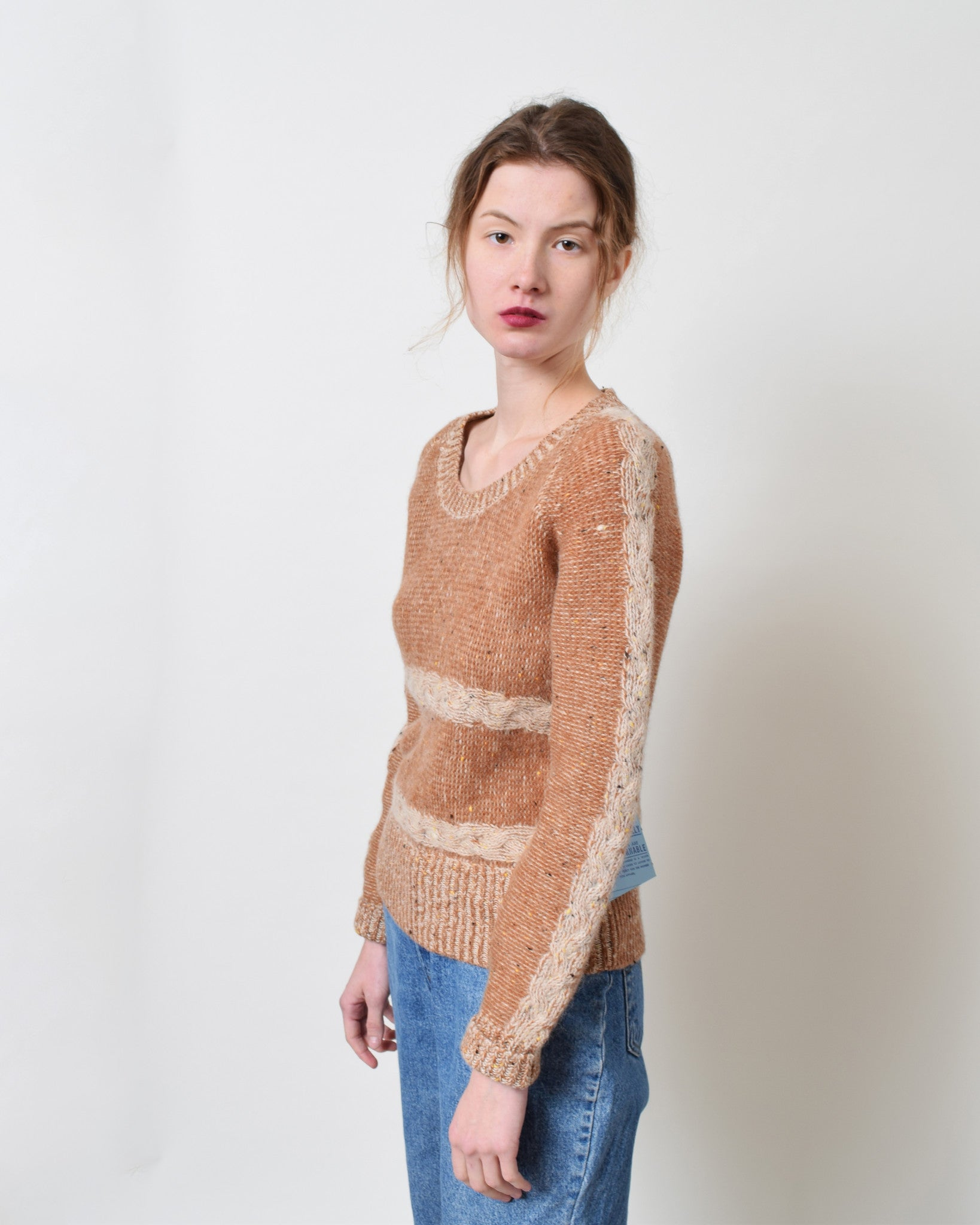 Vintage 1970s Tawny Wool Sweater