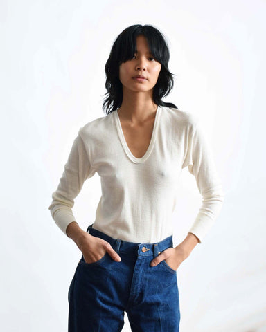 Calvin Klein Ribbon Knit Top