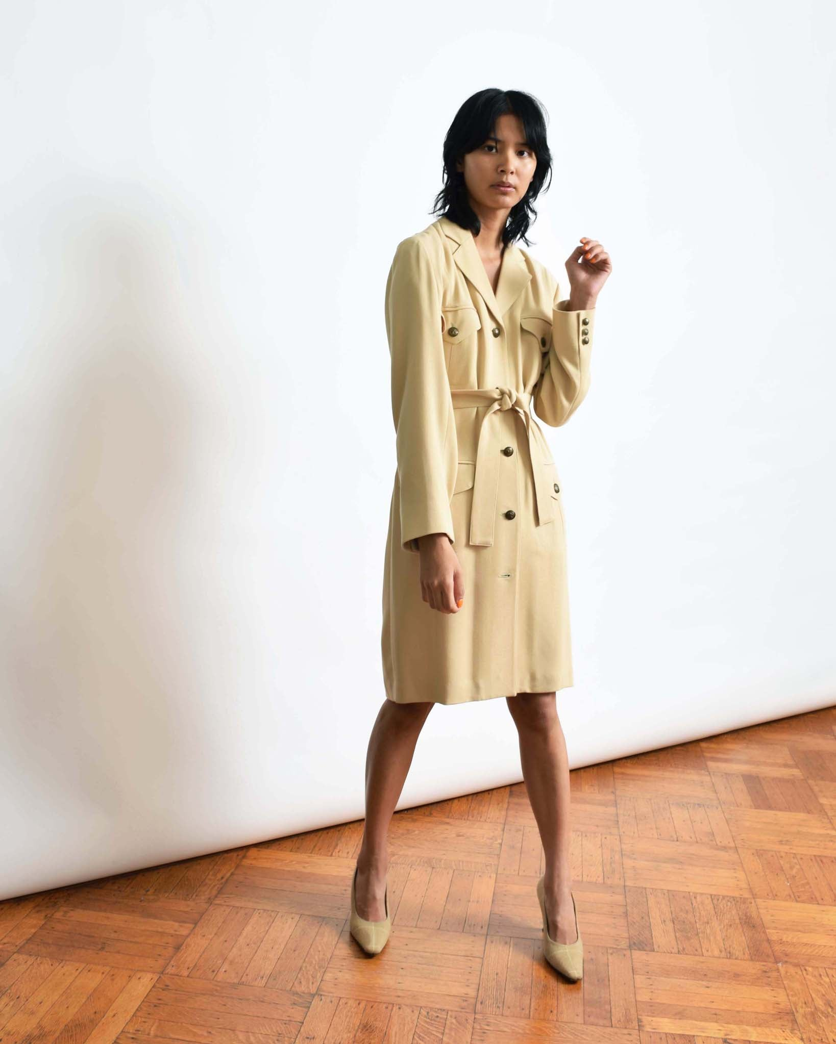 Vintage Emanuel Ungaro Suit Dress