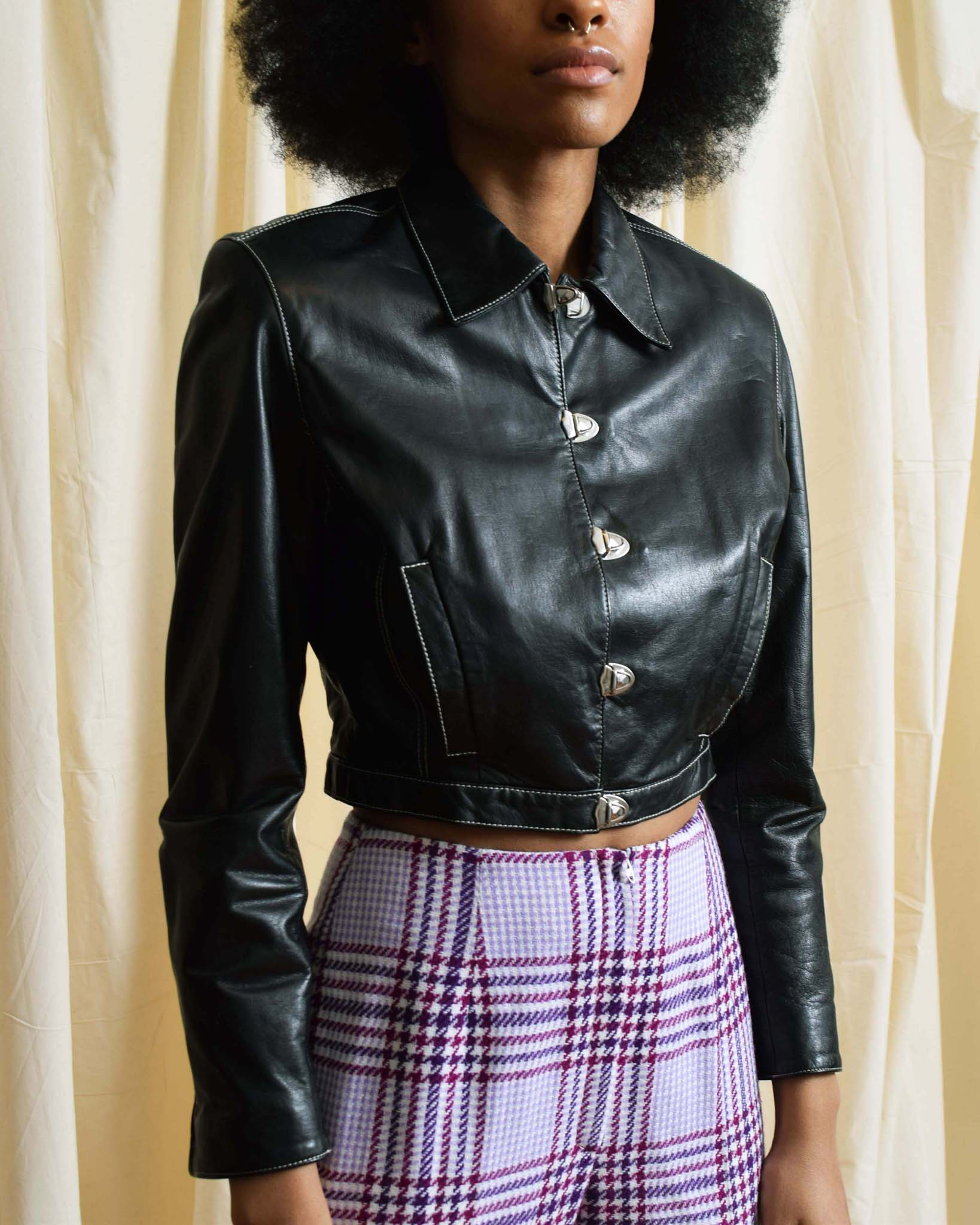 Vintage Ungaro Leather Jacket