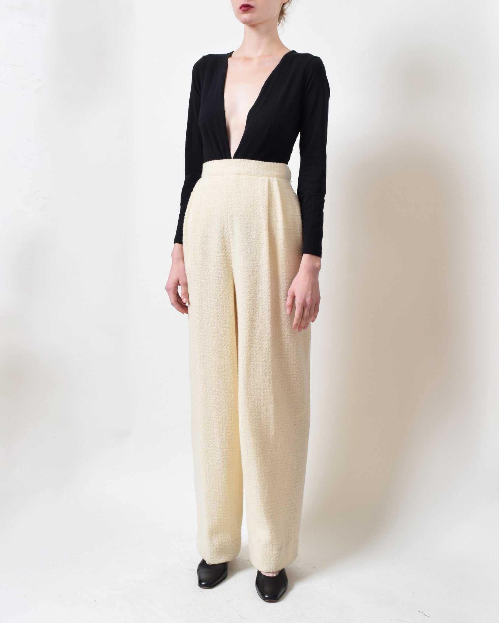 Vintage Valentino Wool Trousers