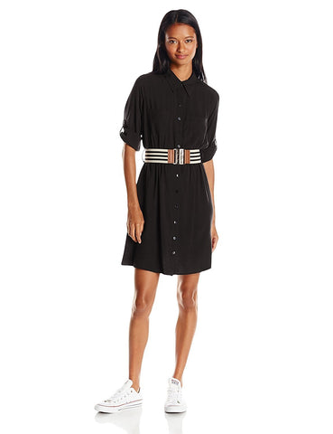 A. Byer Juniors Shirt Dress